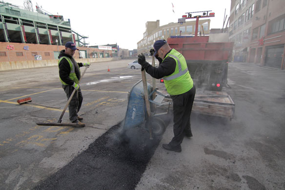 U.S. Pavement Services Help Red Sox Prepare for Opening Day at Fenway Park