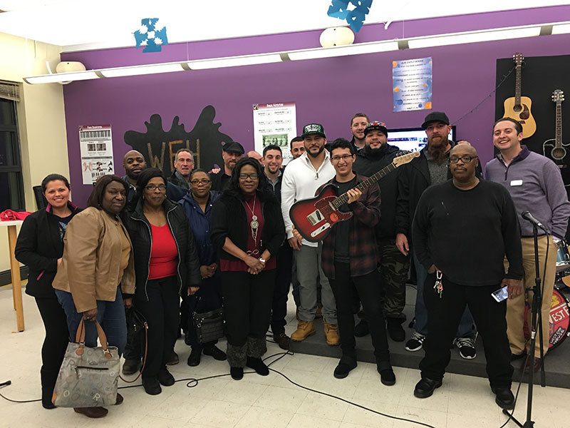 U.S. Pavement Services Honors the Memory of Danny Dailey with Musical Presentation
