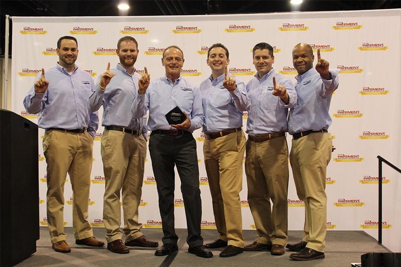U.S. Pavement Services Named #1 Contractor of the Year at 2016 National Pavement Expo