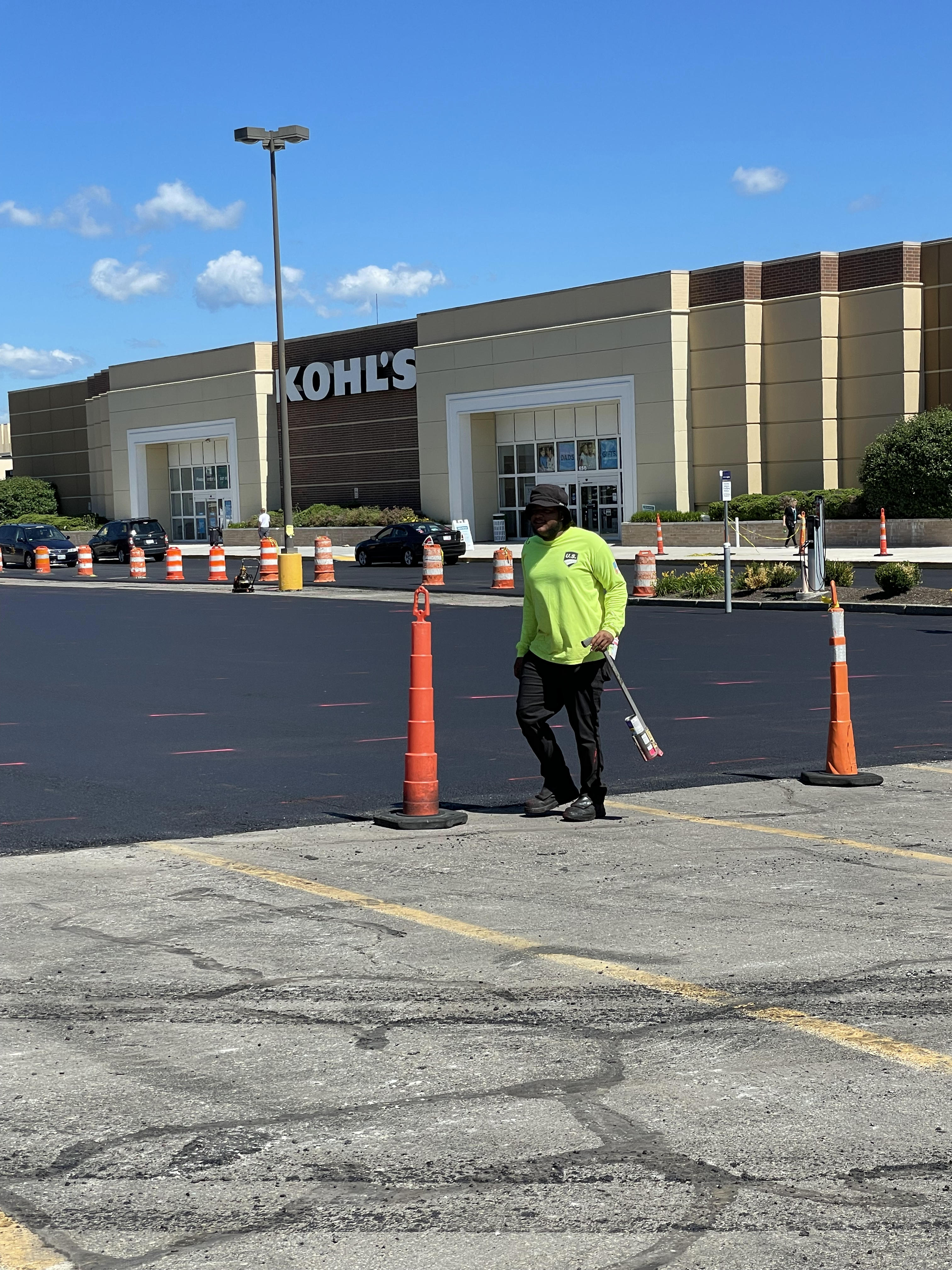 kohls rhode island pavement parking