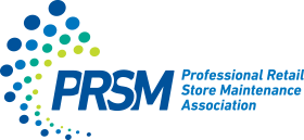 professional retail store maintenance association logo