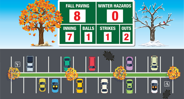 Top of the 10th or Bottom of the 7th: Five Key Factors to Completing Fall Pavement Projects